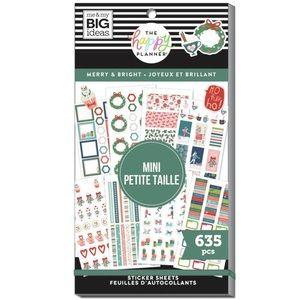 The Happy Planner-Merry & Bright Mini Sticker Book